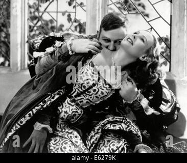 THE PRIVATE LIFE OF HENRY VIII - With Charles Laughton , Wendy Barrie- Directed by Alexander Korda -  United Artists 1933