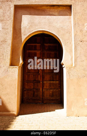 The Tin Mal mosque was added to the UNESCO World Heritage Tentative List on July 1,1995,Foot of High Atlas Mountains,Morocco - Stock Photo