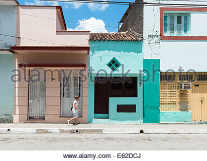 Despite the scorching heat in Cuba many do not protect themselves from the ultraviolet rays. - Stock Photo