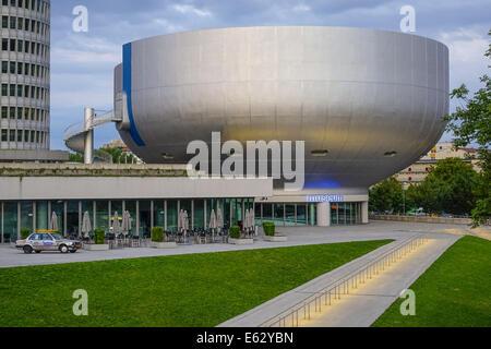 Germany, Bavaria, Munich, BMW Museum - Stock Photo