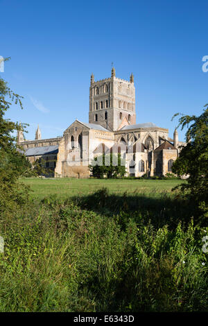 Tewkesbury Abbey, Tewkesbury, Gloucestershire, England, United Kingdom, Europe