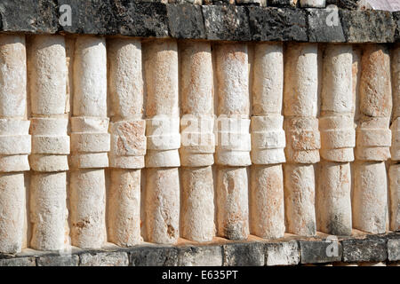 Pyramid of the Magician Uxmal Yucatan Mexico - Stock Photo