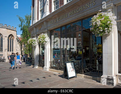Bettys cafe and tea rooms York North Yorkshire England UK United Kingdom GB Great Britain - Stock Photo
