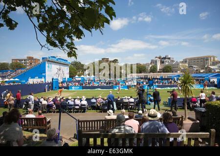 Aegon International Tennis Championships, Devonshire Park, in Eastbourne, East Sussex, England, UK