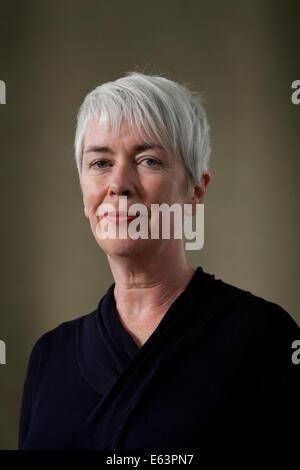 Edinburgh, Scotland, UK. 13th Aug, 2014. Nicola White, award-winning author, at the Edinburgh International Book - Stock Photo