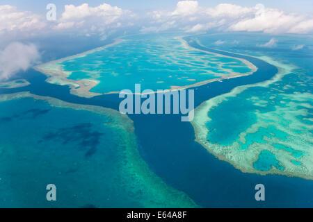 Great Barrier Reef, Queensland, Australia - Stock Photo