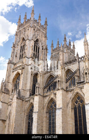 York minster bell towers north yorkshire england stock for West window york minster