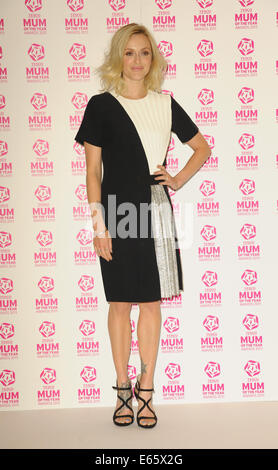 London, UK, UK. 15th Aug, 2014. Fearn Cotton attends a photocall where she is unveiled as Ambassador for Tesco Mum Of The Year 2015 at The Savoy. Credit:  Ferdaus Shamim/ZUMA Wire/Alamy Live News Stock Photo