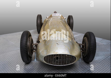 classic racing car Mercedes Benz W154 from 1938 and 1939 - Stock Photo
