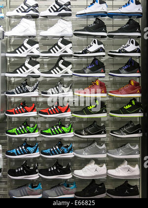 Champs Sports in the Holiday Village Mall, Great Falls, MT, USA - Stock Photo