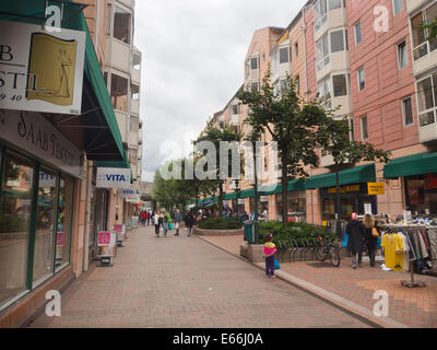 Grønland in central Oslo Norway  urban living and shopping in a colourful international environment - Stock Photo