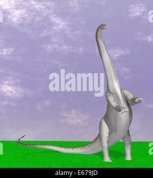 Dinosaurier Apatosaurus / dinosaur Apatosaurus - Stock Photo