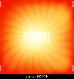 Colorful rays abstract background - Stock Photo