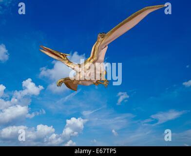 Dinosaurier Quetzalcoatlus / dinosaur Quetzalcoatlus - Stock Photo