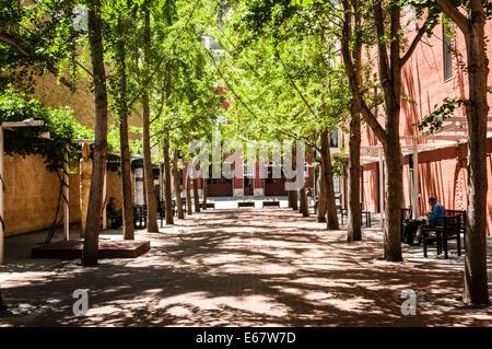 Century Plaza, Church Avenue SE, Roanoke, Virginia - Stock Photo