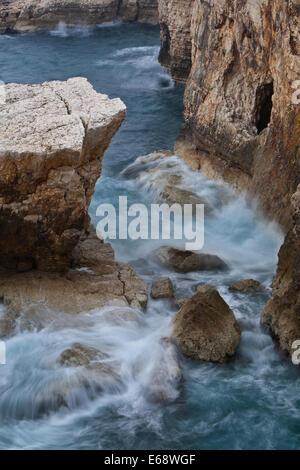 Cape Kamenjak's gorge, Istria, Pula - Stock Photo
