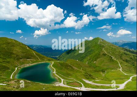 fellhorn,hiking area,allgäu alps - Stock Photo