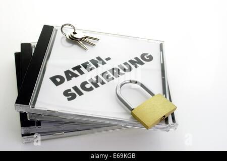 cd,data theft,backup - Stock Photo