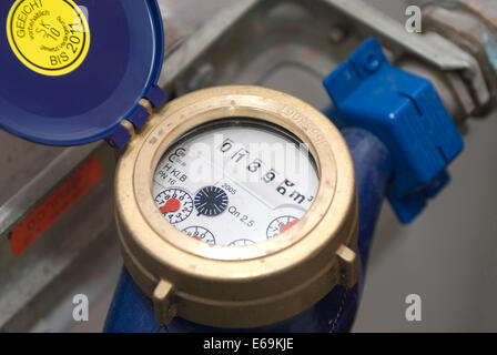 charges,water meter - Stock Photo