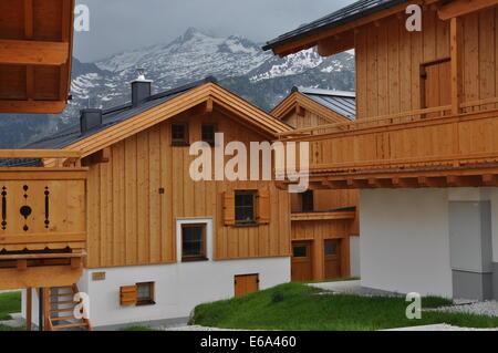 holiday villa,holiday apartment,pinzgau - Stock Photo