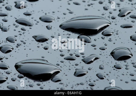 backgrounds,waterdrop,lack - Stock Photo