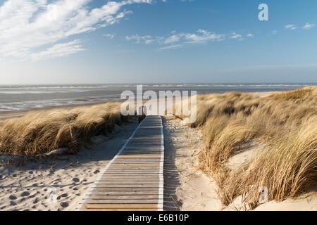 beach,langeoog - Stock Photo