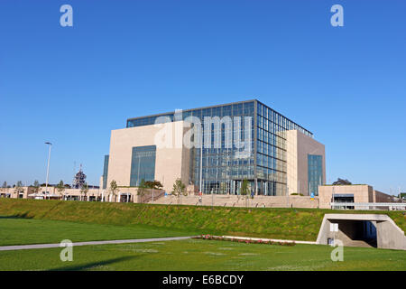 National and University Library in Zagreb, Croatia - Stock Photo