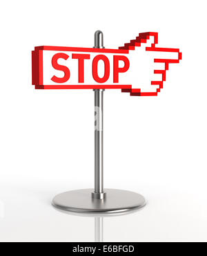 Stop Sign. - Stock Photo