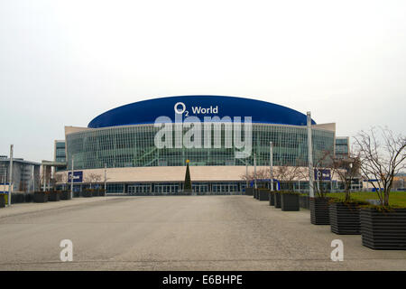 O2 World Arena is the largest hockey palace in Berlin, Germany - Stock Photo