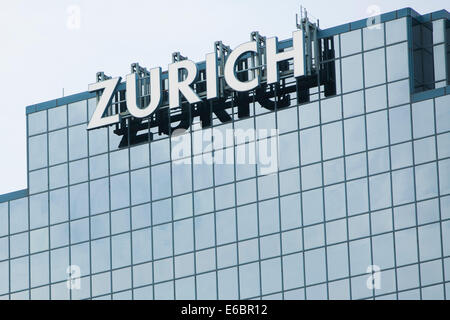 The headquarters of Zurich North America in Schaumburg, Illinois. - Stock Photo