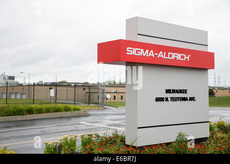A Sigma-Aldrich manufacturing facility in Milwaukee, Wisconsin. - Stock Photo