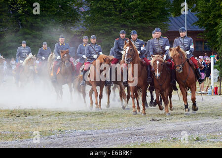 Cavalry festival in Lappeenranta Finland - Stock Photo