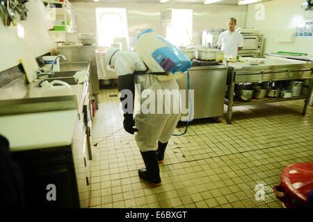 Qingdao china 19th aug 2014 aug 19 women wearing for Bureau quarantine