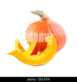 Pumpkin isolated - Stock Photo