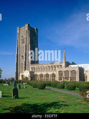 St Peter & Paul Church Lavenham Suffolk UK - Stock Photo