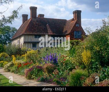 Great Dixter Gardens Northiam East Sussex UK - Stock Photo