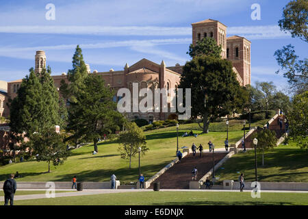 Royce Hall, UCLA, Westwood, Los Angeles, California, USA. - Stock Photo