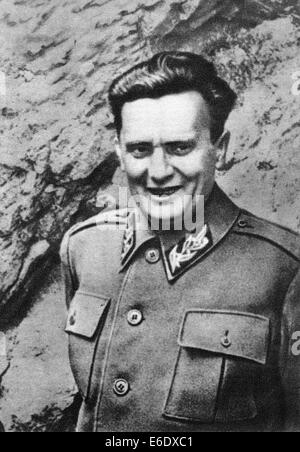 Josip Broz Tito (1892-1980), Revolutionary, Statesman and 1st President of Yugoslavia, Portrait, circa 1941 - Stock Photo