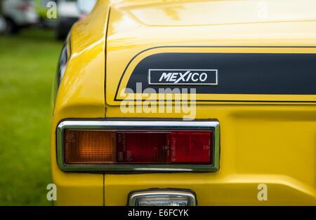 Ford Escort Mk1 Rally Car At Oulton Park Motor Racing
