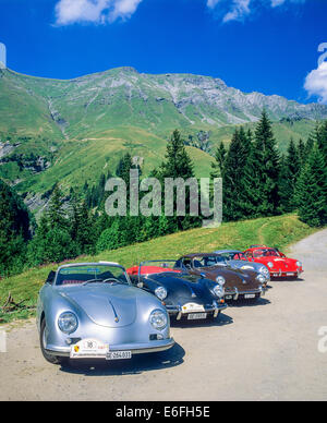 alpes retro vintage car rally cours mirabeau aix en provence stock photo 20491680 alamy. Black Bedroom Furniture Sets. Home Design Ideas