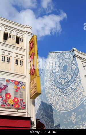 Mosque Street,Chinatown District, Singapore, Asia - Stock Photo
