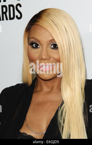 Los Angeles, California, USA. 22nd Aug, 2014. Tamar Braxton attends BMI Hip-Hop Awards 2014 on August 22nd 2014 - Stock Photo