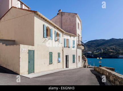 Port-Vendres,Languedoc-Roussillon,France. - Stock Photo