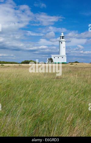 Hurst Point Lighthouse, Hampshire, England - Stock Photo