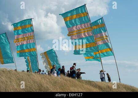 Portsmouth, Hampshire, UK. 23rd August, 2014. Victorious Festival - Saturday, Southsea, Hampshire, England. Festival - Stock Photo