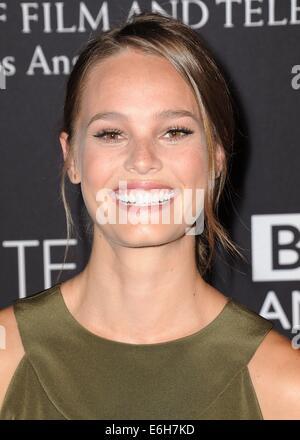 Los Angeles, CA, USA. 23rd Aug, 2014. Bailey Noble at arrivals for BAFTA Los Angeles TV Tea, SLS Hotel at Beverly - Stock Photo