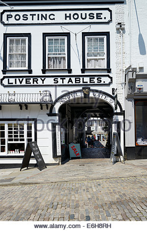 The Angel Hotel, Guildford High Street , Surrey, England UK - Stock Photo