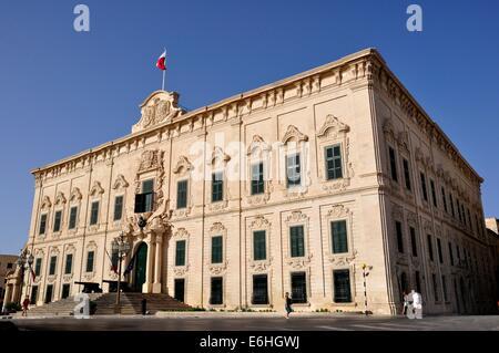 Auberge de Castille,Valletta,Malta, Prime Minister's office - Stock Photo