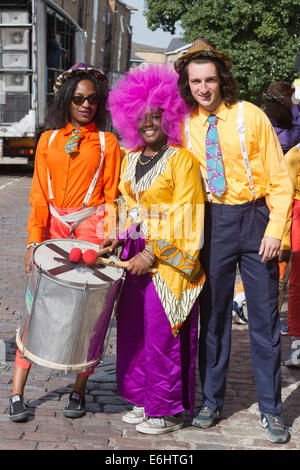 Notting Hill Carnival, Children's Day - Stock Photo