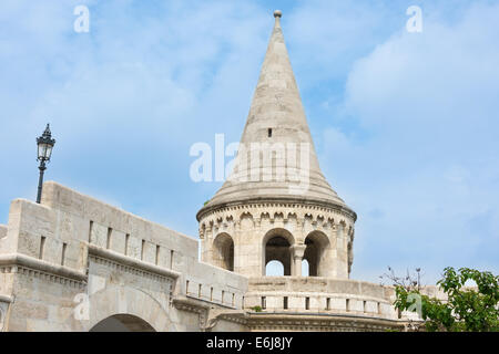 Fisherman's Bastion, Budapest, Hungary - Stock Photo